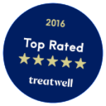Treatwell - Top Rated 2016
